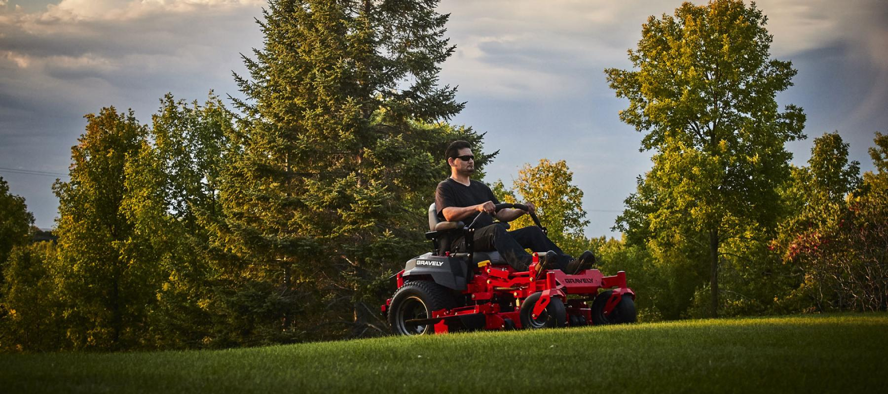 Outdoor Power, LLC - Stop down to check out our full line of riding mowers.